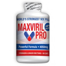 MAX VIRIL PRO (MAXVIRIL) APHRODISIAQUE 4050 MG